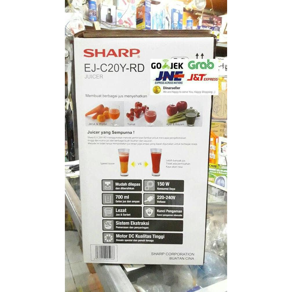 Juicer Sharp Temukan Harga Dan Penawaran Perangkat Dapur Online 15 Liter Ej150lpk Terbaik Elektronik Oktober 2018 Shopee Indonesia
