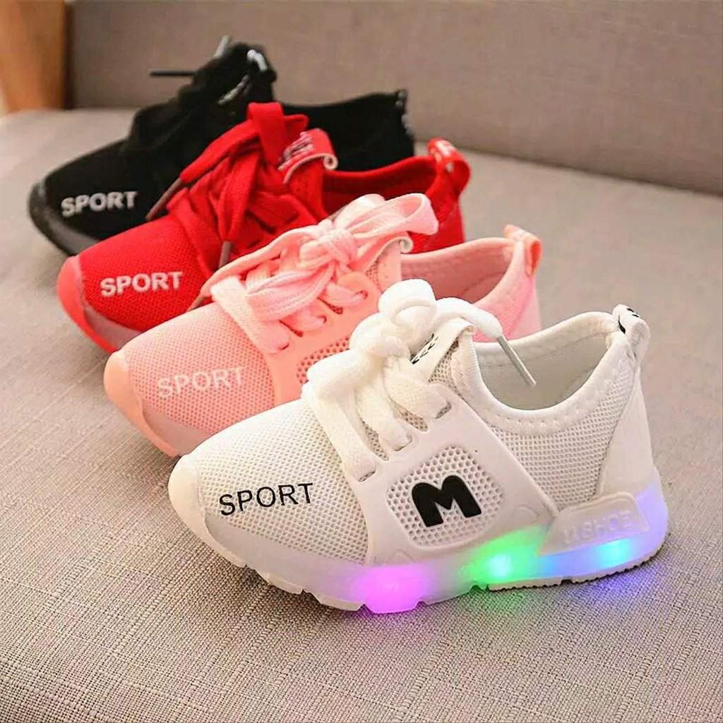 Fashion Anak Sepatu Anak Lampu 3 Fashion Sepatu Anak Laki Laki