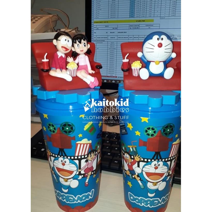 Tumbler Cup Doraemon Nobita Shizuka Limited Dari Xxi Shopee Indonesia