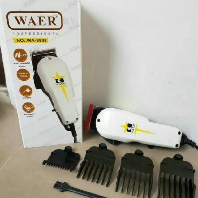 Alat Cukur Rambut Elektrik Waer   Clipper   Mesin Cukur Rambut ... de774653a7