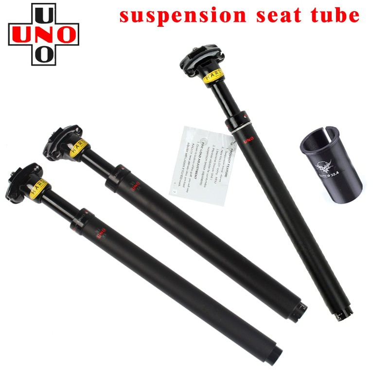 UNO Bicycle Seat Post Suspension Bike Seatpost Shock Absorbe27.2//30.9//31.6x350mm