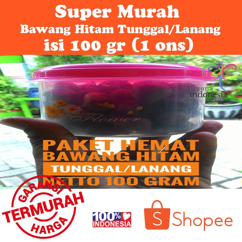 Black Garlic Bawang Hitam Shopee Indonesia 500 Gram Lanang 65 Butir