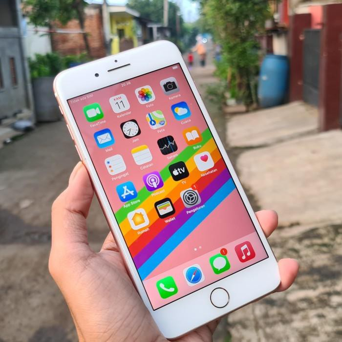 HP apple iphone 7 plus 128gb pink ready