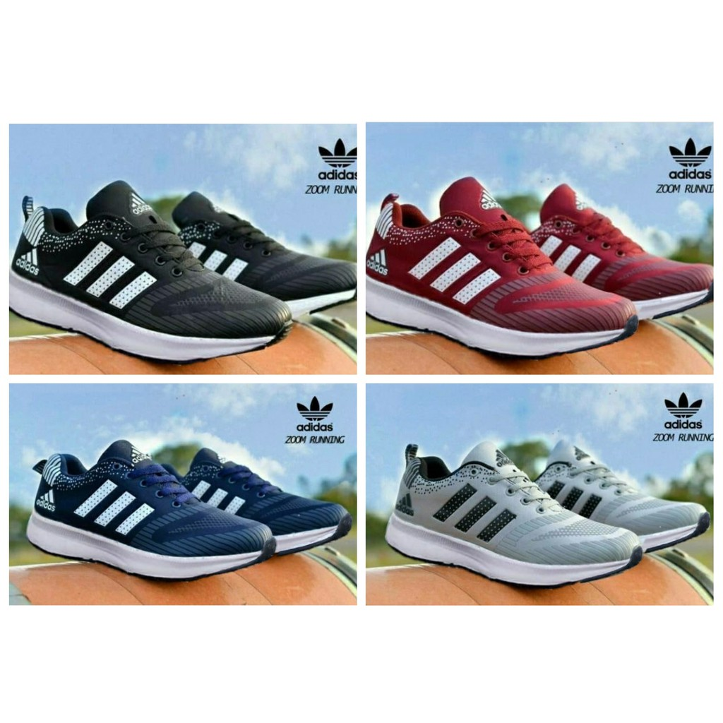 Sepatu nike 3d cumi sneakers pria wanita adidas ax2 zoom flyknit rosherun  lari badminton sport slip  6f1eb89127