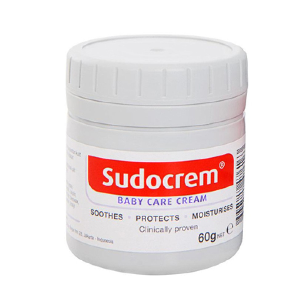 Sudocream Baby Care Cream 60g Shopee Indonesia Zwitsal Extra With Zync 50ml Tub