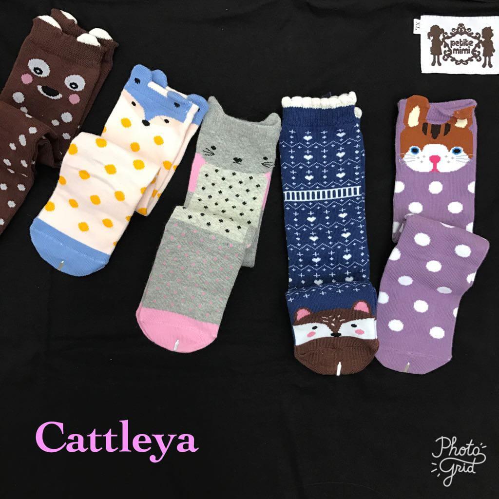 Kaos Kaki Selutut Petite Mimi / High Knee Socks / Middle Socks / Kaos Kaki Bayi | Shopee Indonesia