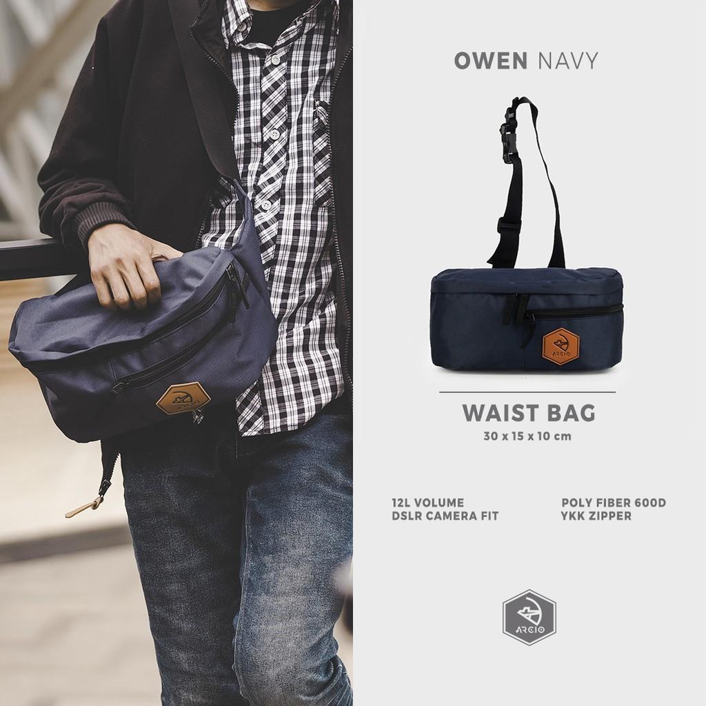Mihara Messenger Bag Torch Tas Selempang Sling Ransel Ishikari 20 2l Navy Shopee Indonesia