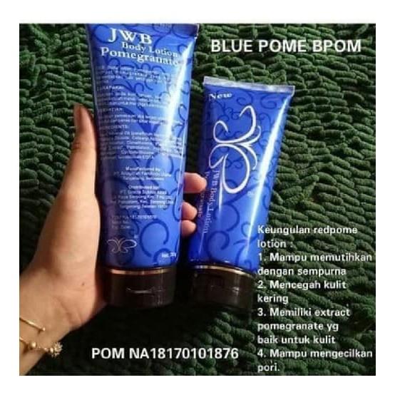 JWB BLUE POME / JWB BLUE POMEGRANATE BODY LOTION NEW ORIGINAL BPOM | Shopee Indonesia