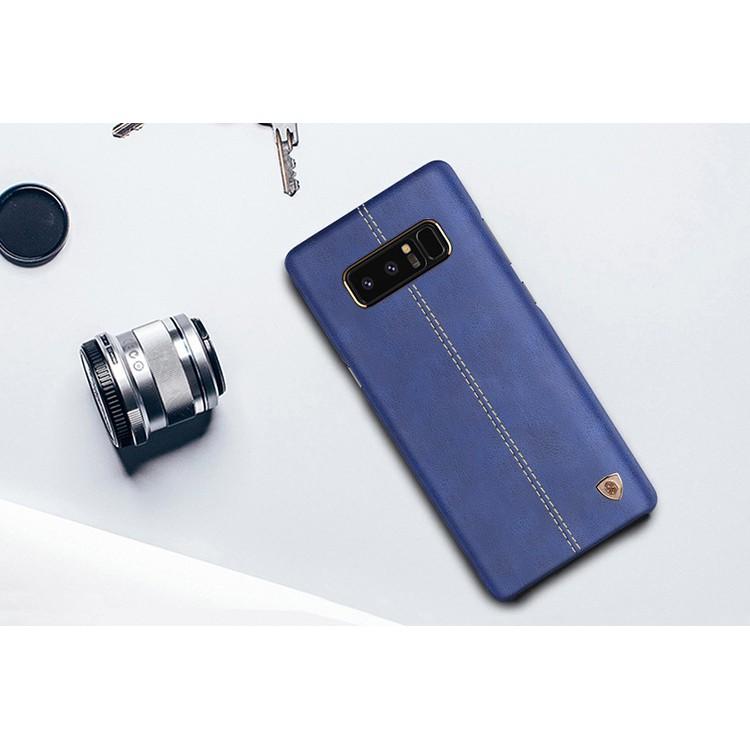 Samsung Galaxy Note 8 NILLKIN ENGLON Backcase Premium Leather Hardcase | Shopee Indonesia