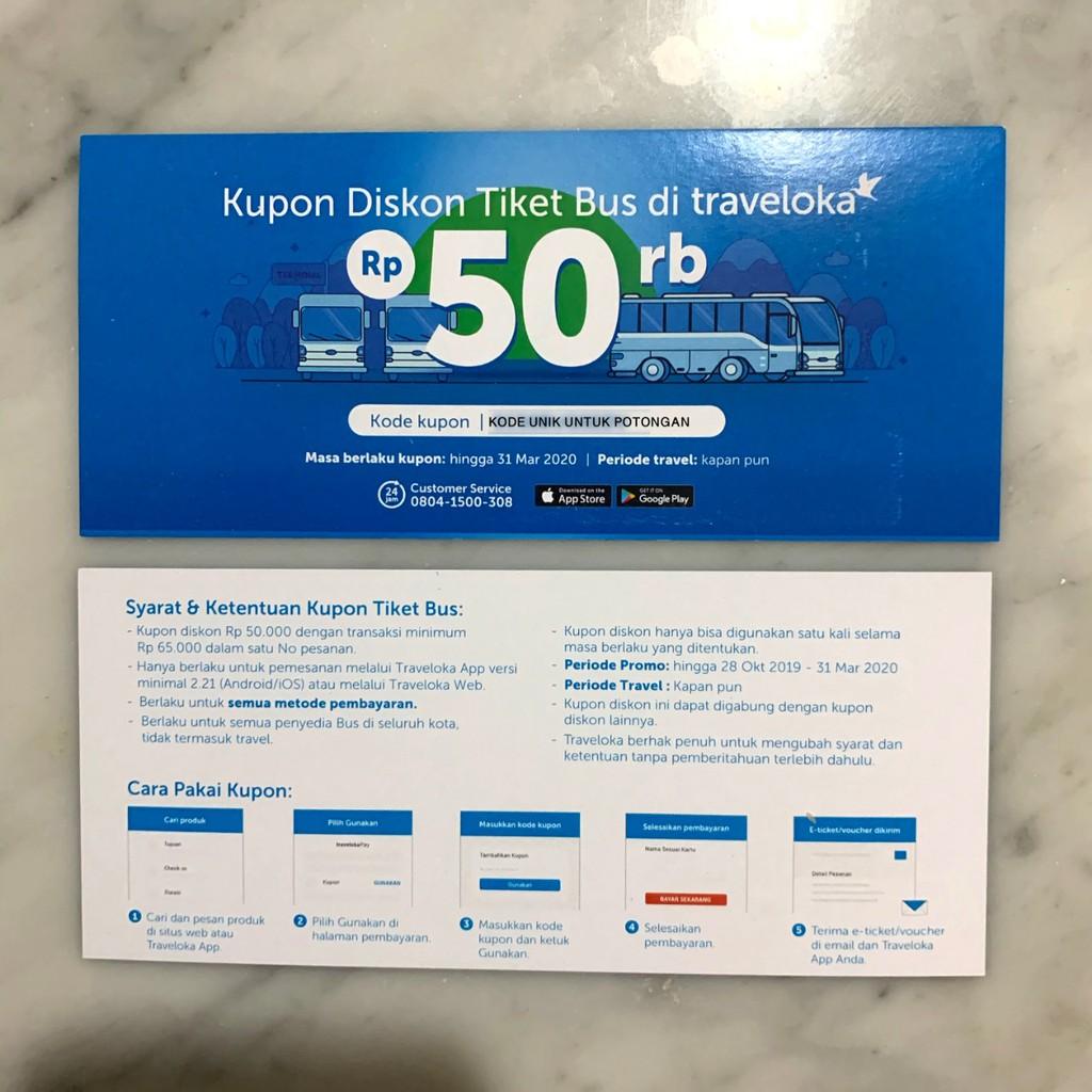 Voucher Diskon Traveloka Voucher Bus Traveloka Voucher Potongan 50rb Voucher Tiket 50000 Shopee Indonesia
