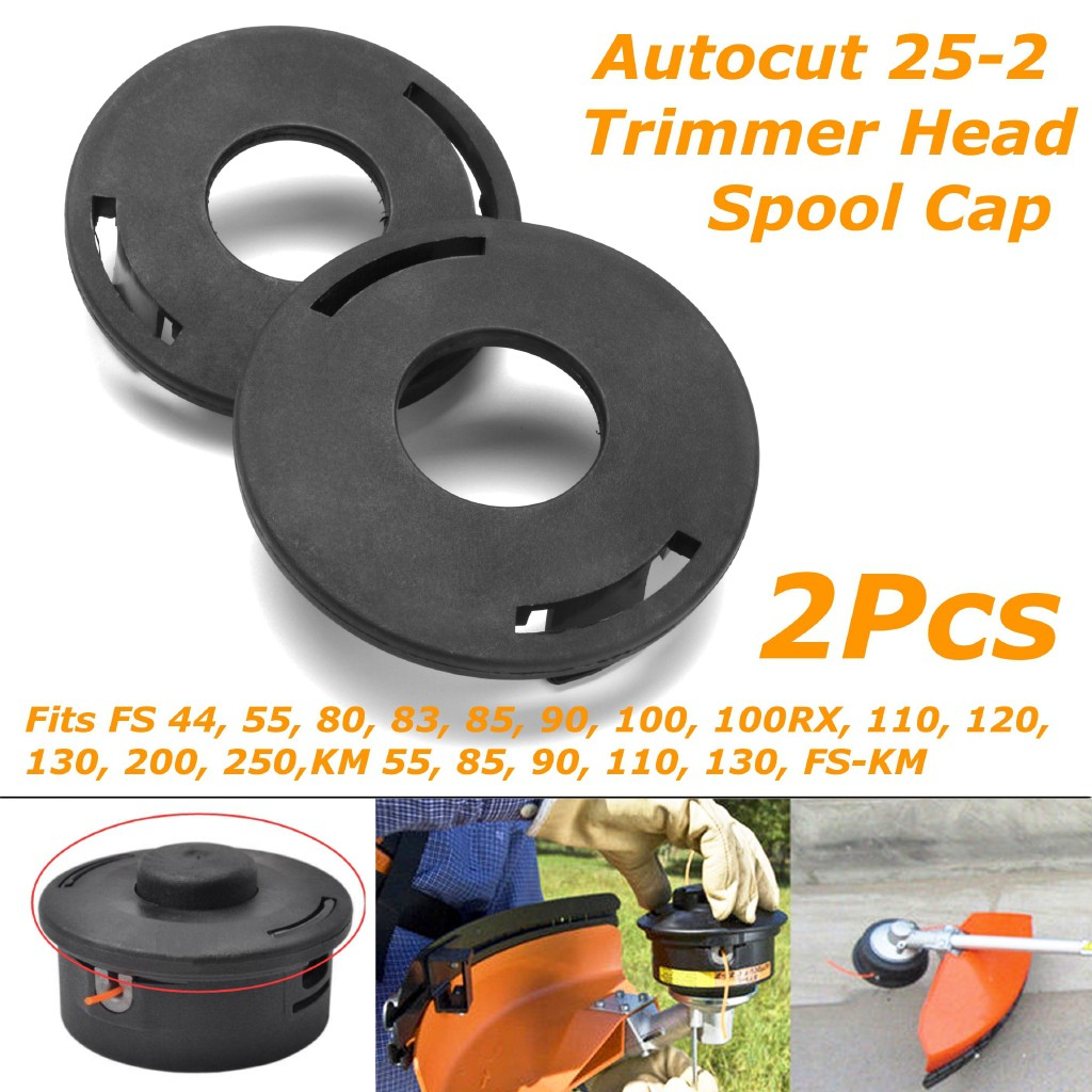 Trimmer Head Cover Cap Spool for Stihl 25-2 FS 90 100 110 120 130 80 83 85