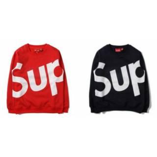 Shopee Pakaian Pria Saya Sweater Supreme big logo pria/. suka: 8