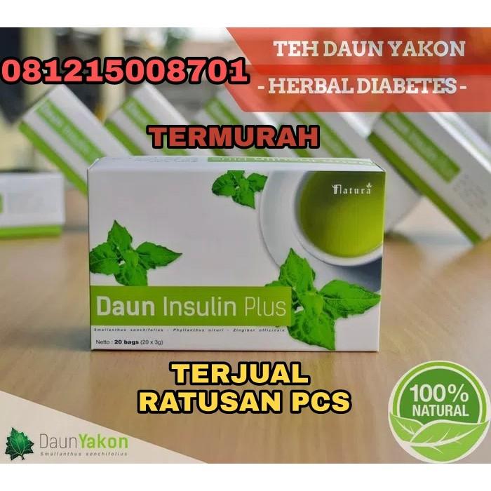 Jual Daun Insulin Plus Teh Daun Yakon Herbal Diabetes Murah | Shopee Indonesia
