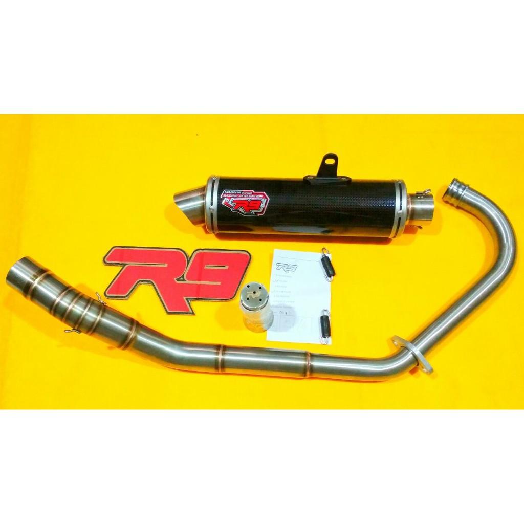 Knalpot Racing Jupiter Zr9knalpot Motor Shopee Indonesia R9 Full System New Mugello Mega Pro Exhaust Megapro