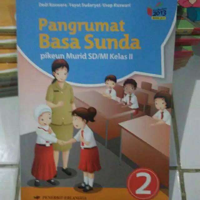 Buku Pangrumat Basa Sunda 2 Bahasa Sunda Kelas 2 Sd Erlangga Shopee Indonesia