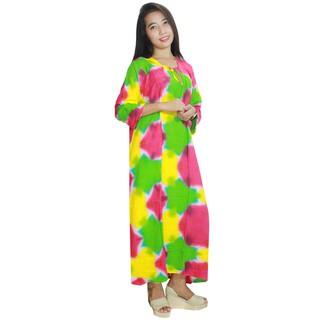 Longdres Batik Daster Lengan Panjang Baju Tidur Kerut Lpt001 66 Warna B 3197216 2mifg0v longdres batik