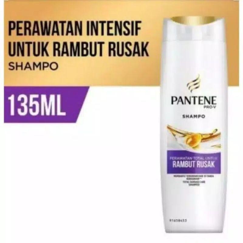 Pantene Shampoo 130ml-Rambut Rusak