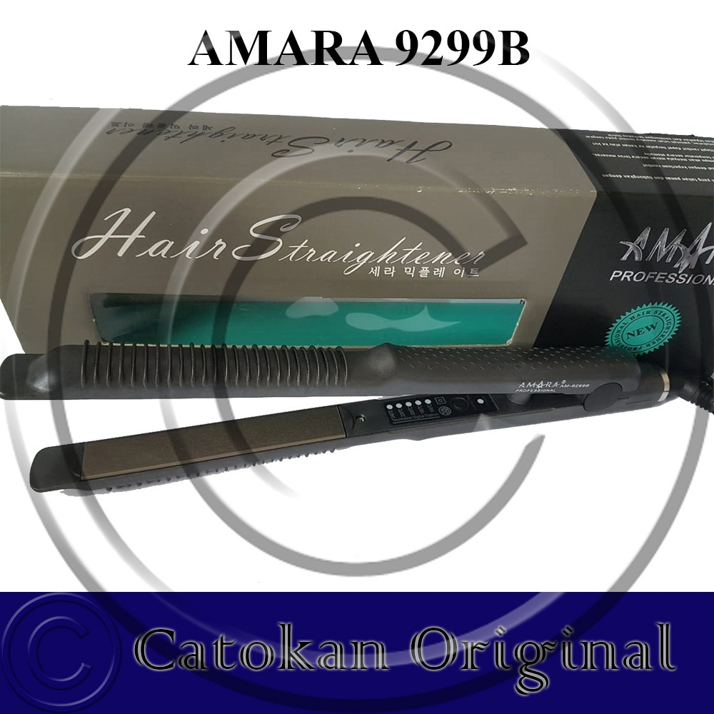 Catok Young 2in1 Catokan Rambut 2in1 Tipe 9299B by Amara ORIGINAL | Shopee Indonesia