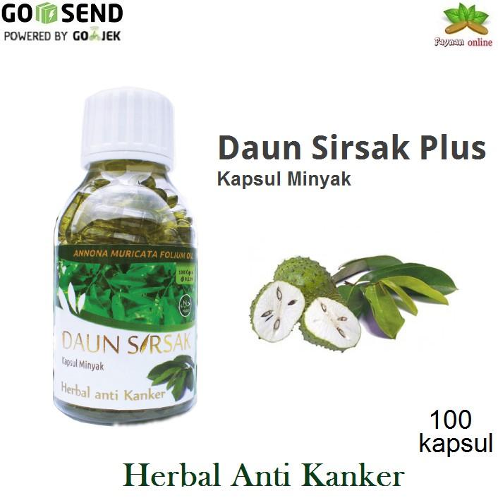 Daun Sirsak Plus SPM Kapsul Minyak Daun Sirsak 100 Kapsul | Shopee Indonesia