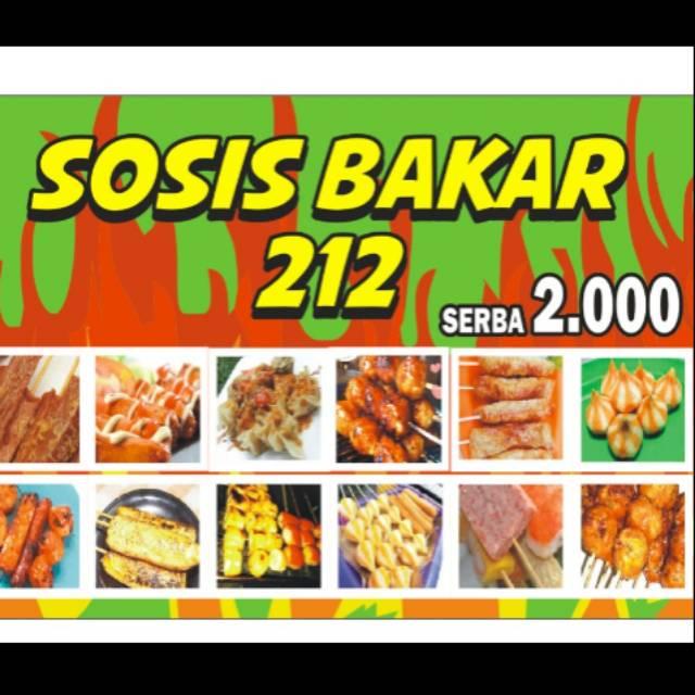 harga banner terbaik november 2020 shopee indonesia banner sosis bakar ukuran 115 x 80 cm