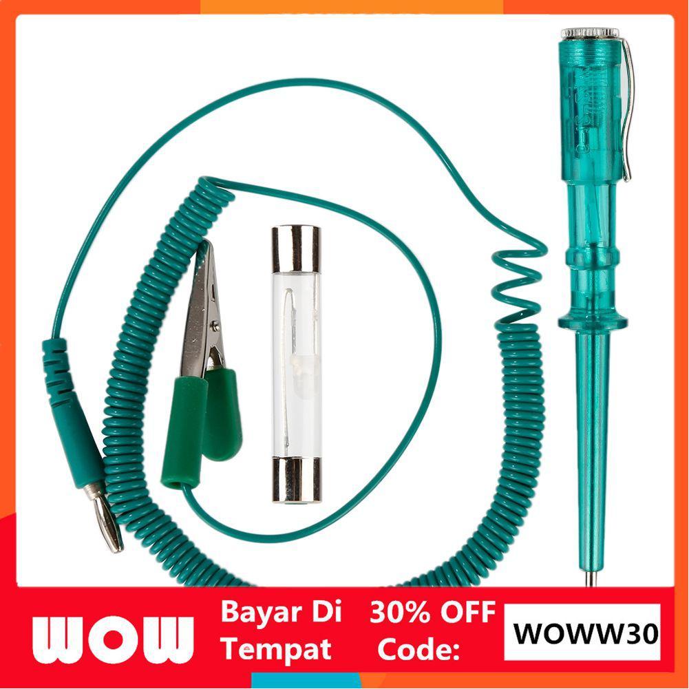 **30%OFF WOWW30** 1 Set Car DC Circuit Test Pen Vehicle Maintenance  Measuring Pen 6V 12V 24V