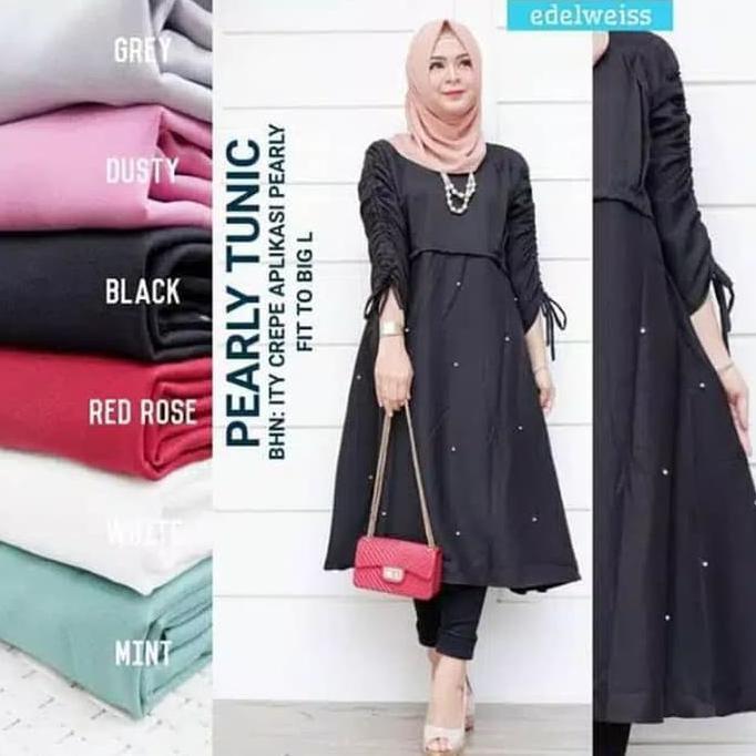 Harga Kekinian Blouse Fashion Muslim Tunik Dress Muslim Gamis Terbaik Maret 2021 Shopee Indonesia