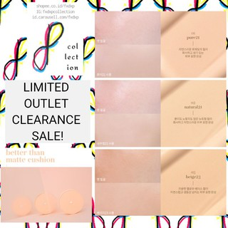 LIMITED CLEARANCE OUTLET SALE rom&nd Better Than Matte Cushion (Romand BB Foundation) thumbnail