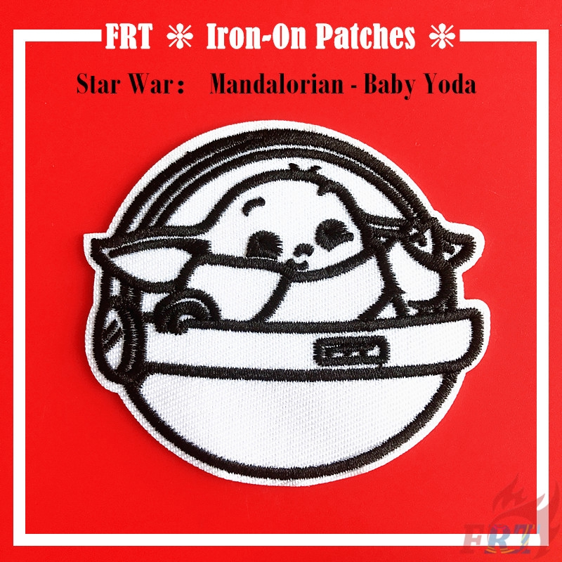 Patch Iron-On Master Yoda Baby Embroidered Applique