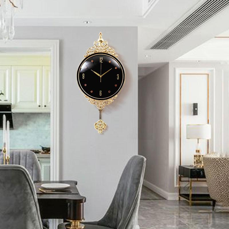 Kx Jam Dinding Gaya Eropa Modern Simple Untuk Dekorasi Ruang Tamu Shopee Indonesia