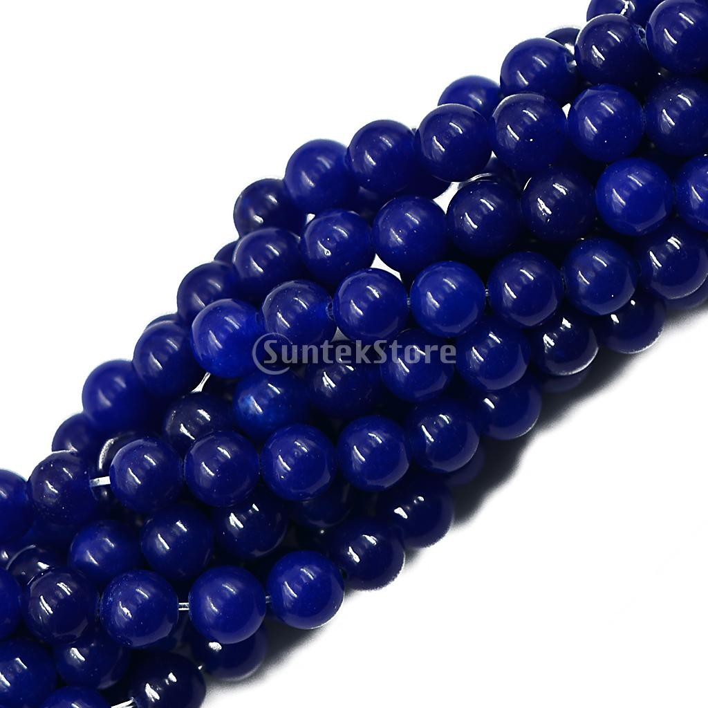 """15""""AAA+ Charm white bead 4mm Natural Smooth Gemstones Round  Loose Beads"""