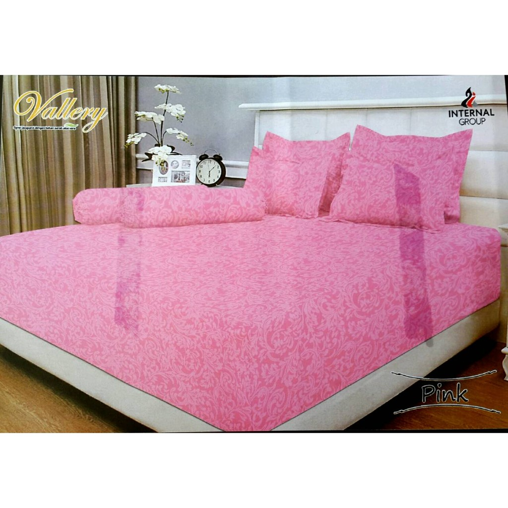 Sprei Resleting 3d Uk 200x200 Tinggi 10cm 15cm 20 Cm Pink Rose V Bed Hello Kitty Extra King Size Sarung Kasur Brongsong Shopee Indonesia