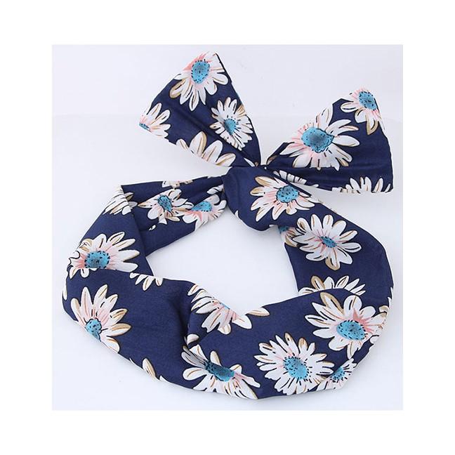 LRC Bando Sweet Flamingo Pattern Decorated Wide Hair Band. 21.100 · LRC Bando Fashion Navy