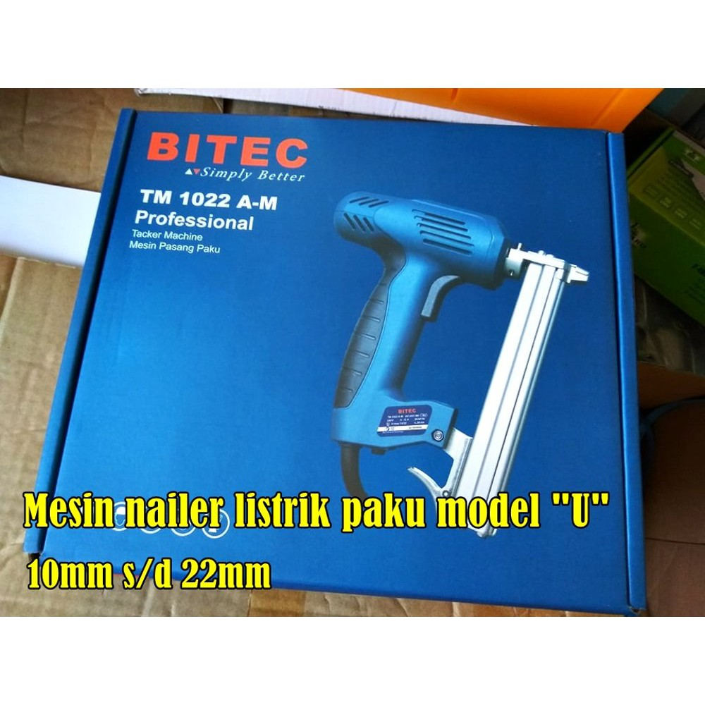 Jual Electric Nailer / Paku Tembak Listrik Bitec TM 30 Exclusive | Shopee Indonesia