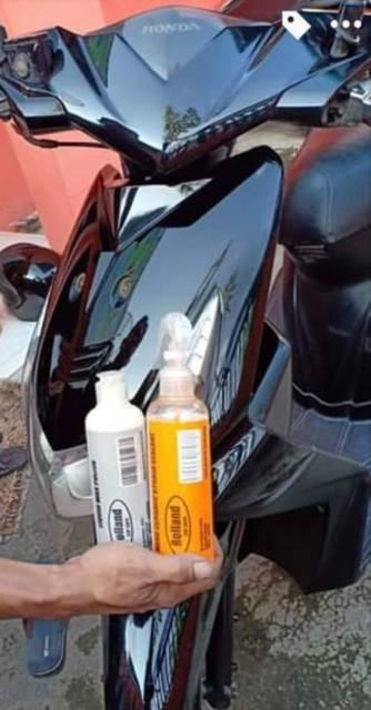 Pengkilap Motor Dan Mobil Rolland Car Care Shopee Indonesia