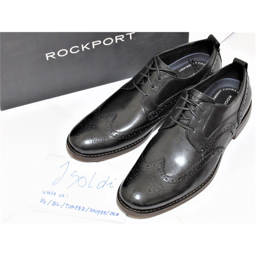 Jual Sepatu Semi Formal Rockport DP2 Fast Mudguard Original  ffc1655178