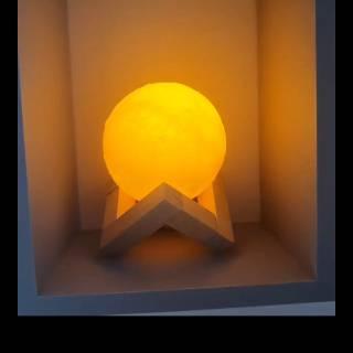 lampu tidur dekorasi hias rumah kamar ruang kerja moon