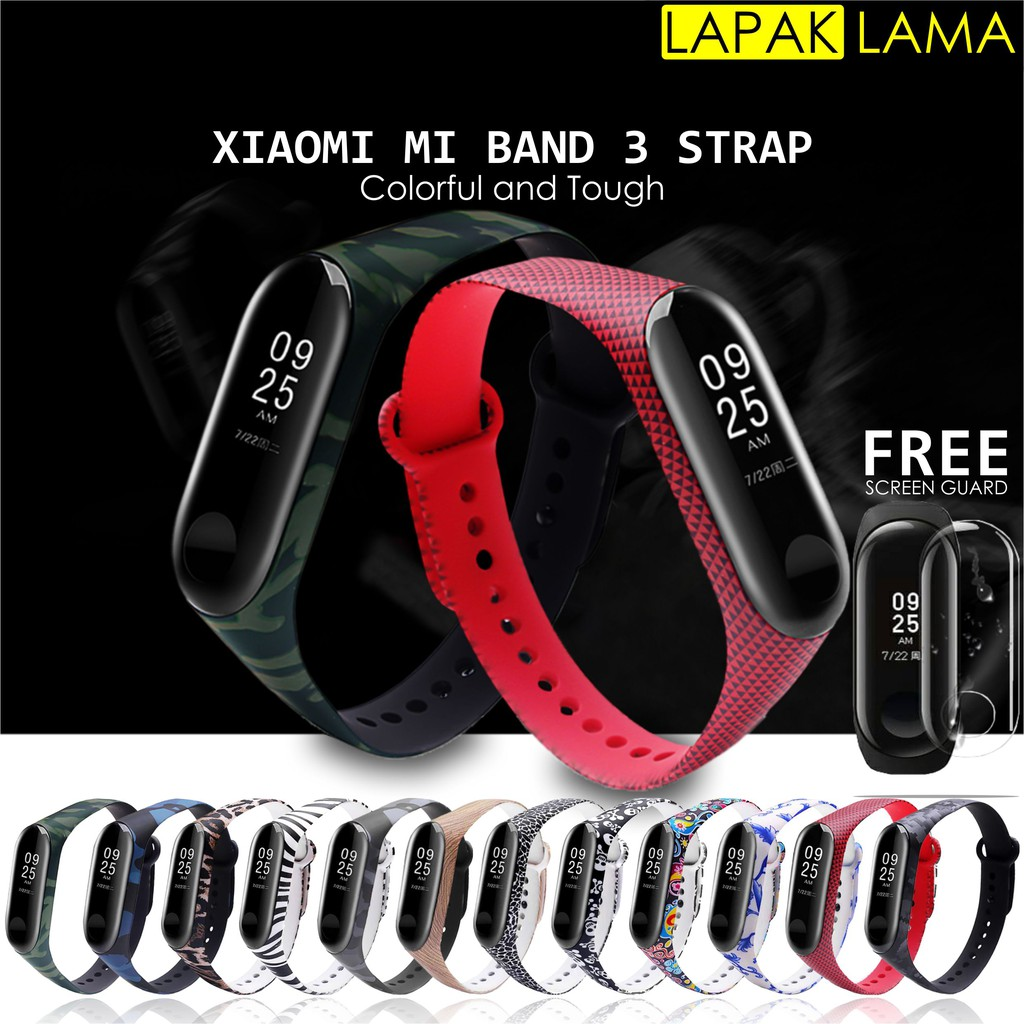 WSLC Fashion Smart Wrist strap Personality Replacement Strap For Xiaomi Mi Band 3 Leather Bracelet | Shopee Indonesia