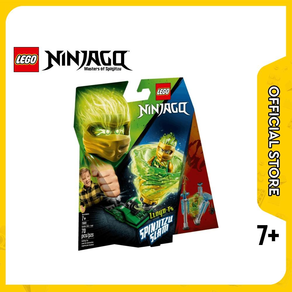 lego ninjago 70681 spinjitzu slam  lloyd 70 buah mainan