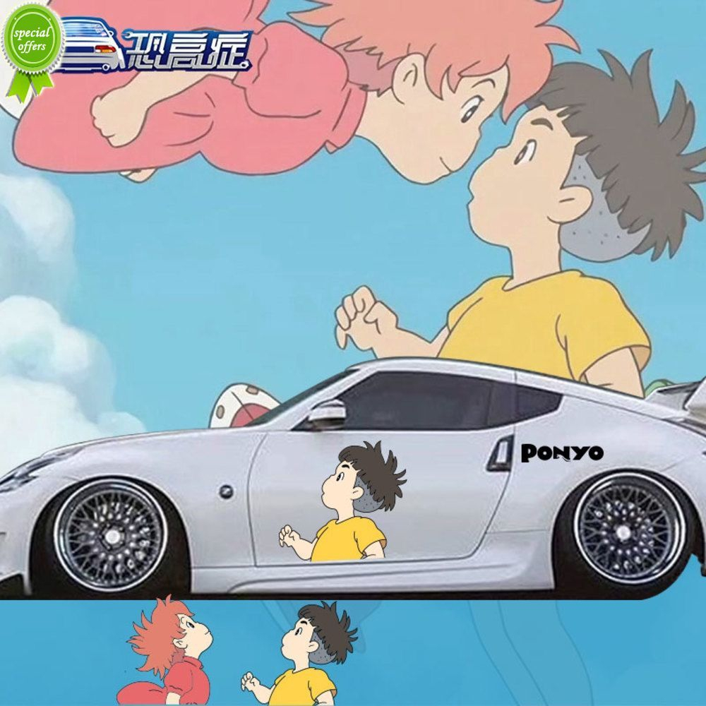 Sticker Mobil Ikan Mas Kyi Kartun Anime Stiker Sosuke Ponyo Mobil Stiker Mobil Beberapa Stiker Oklusi Goresan Stiker Lucu Shopee Indonesia