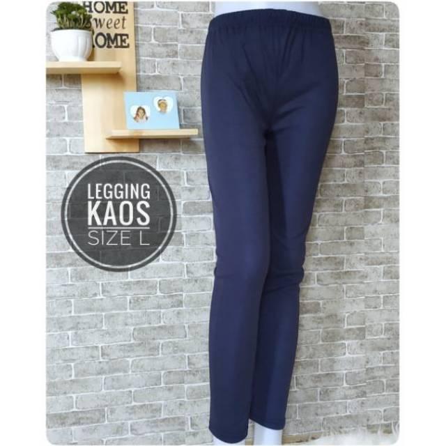 Legging Polos Celana Dalaman Gamis Celana Inner Size Fit To L Shopee Indonesia