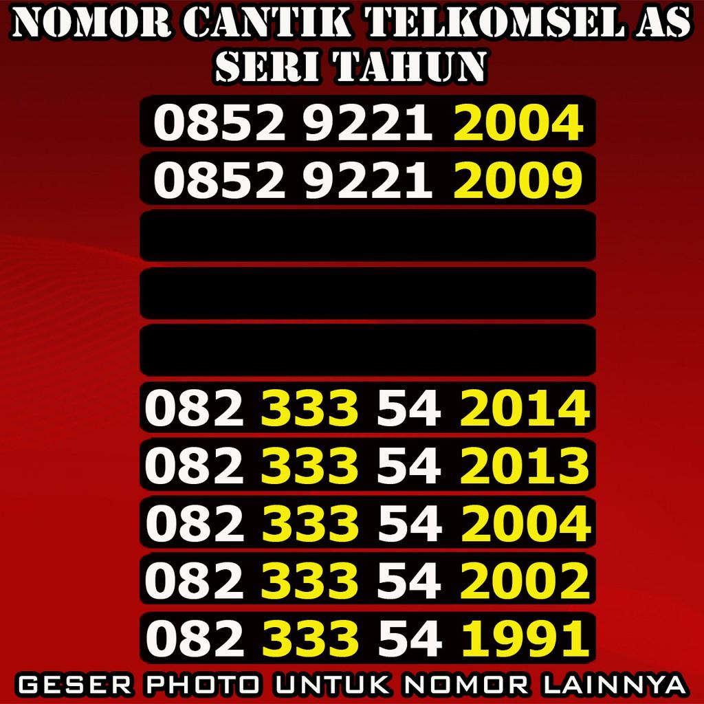 Perdana Simpati 4G Nomor Cantik Double Operator 0813 2997 0813 | Shopee Indonesia