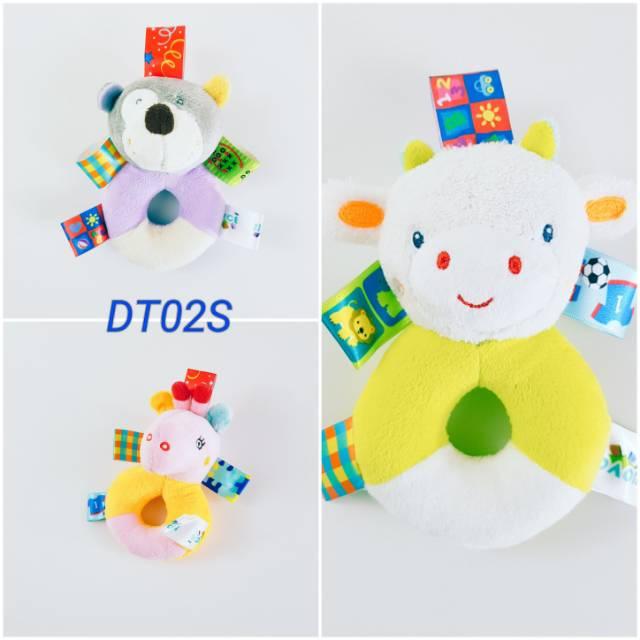 Tipo | Mainan Bayi 3 Bulan Boneka Rattle Donat Standart DT02S