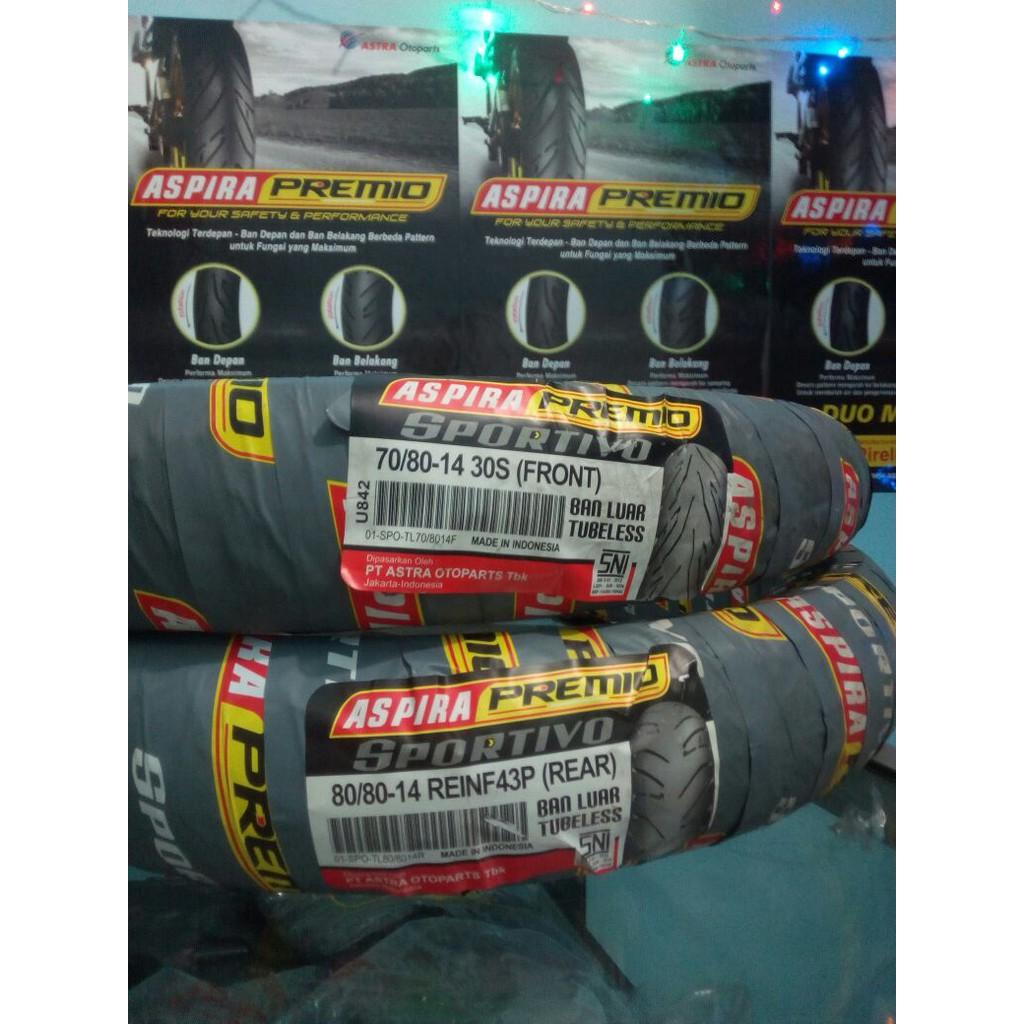 [READY] BAN LUAR MIZZLE 90 80 17 TUBELESS Murah   Shopee Indonesia