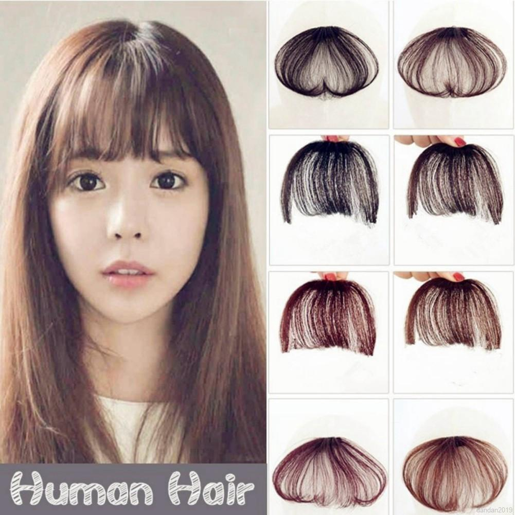 Image result for Clip-In Bangs