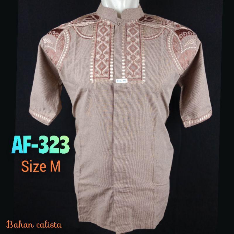baju koko alwafa ukuran M