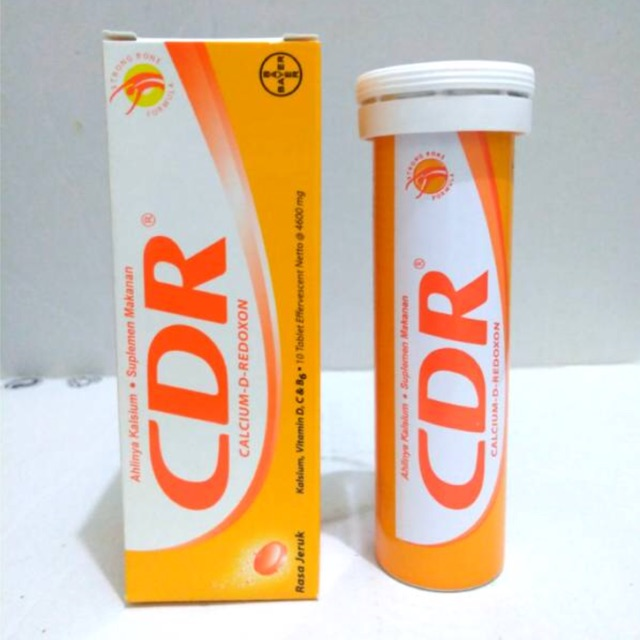 CDR Calcium D Redoxon Effervescent 10 Tab | Shopee Indonesia
