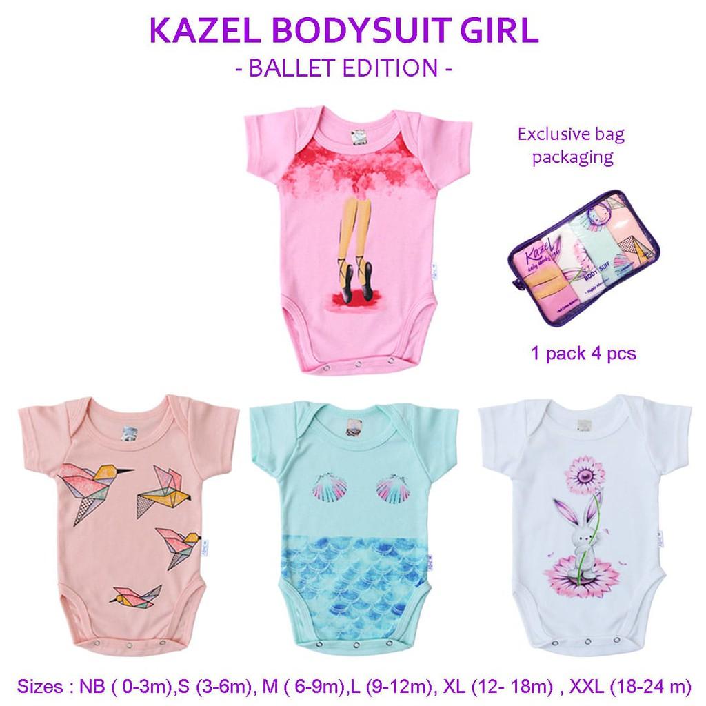 Kazel Bodysuit / Jumper Fox 4in1 Jumper Bayi Modern Boy cherrybabykidsshop | Shopee Indonesia