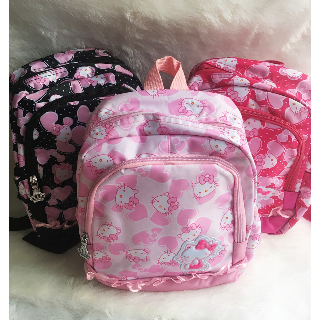 15 Variasi Tas Anak Ransel kecil Sekolah Anak TK Karakter Panda Hello Kitty  minion  16afb43d9b