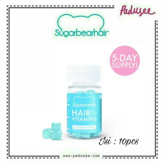 Sugarbear Hair Vitamins 5 Days Supply