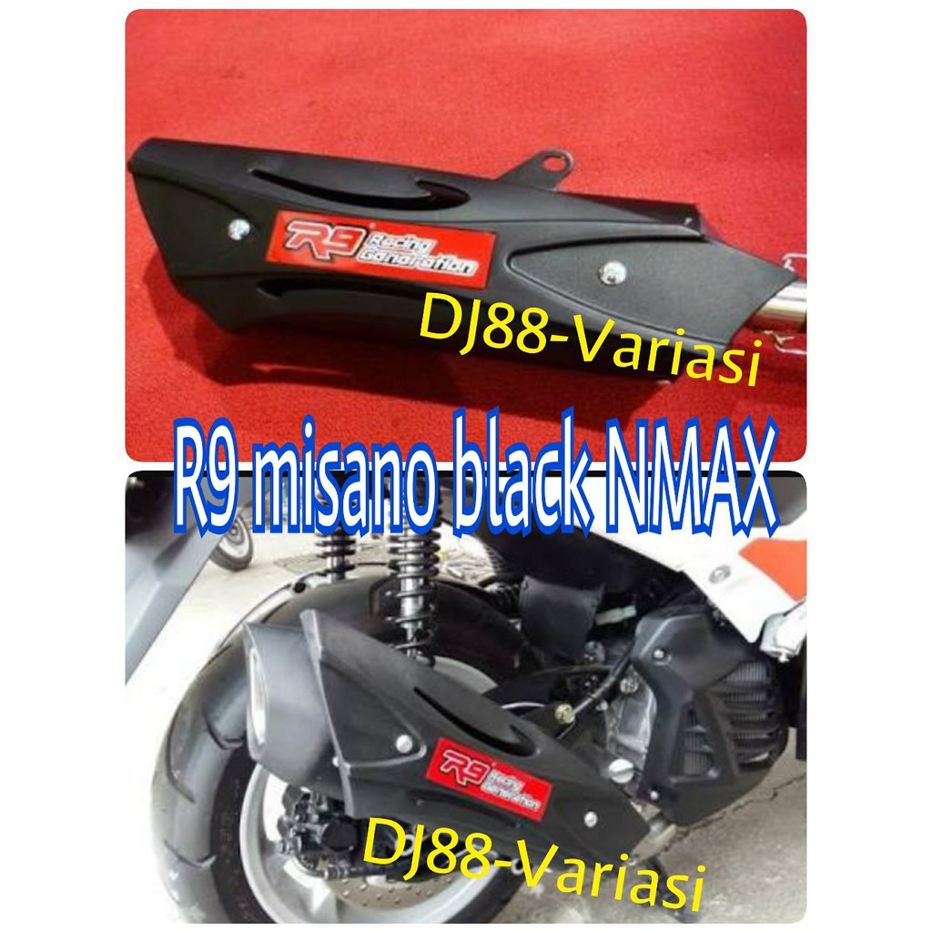 Knalpot R9 Misano Full System Yamaha Nmax Shopee Indonesia Prospeed Black Series 150 Fullsystem
